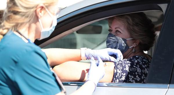 Drive Thru Flu Shot Clinic