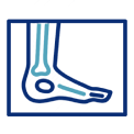 x-ray of foot icon