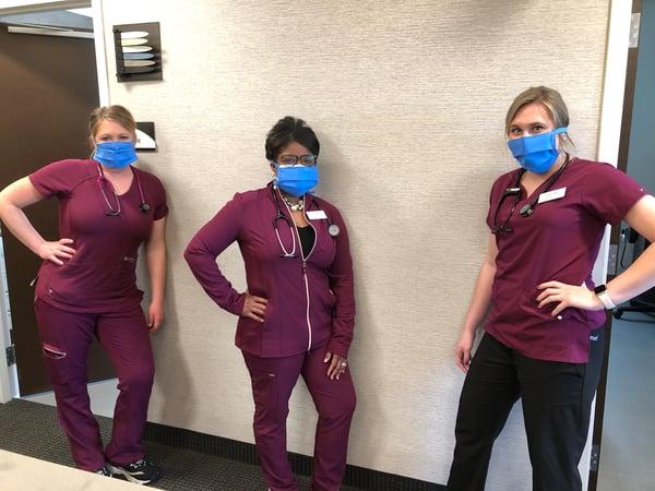 doctors wearing masks